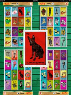 """Check out the free """"loteria"""" app if you know any Spanish! Awesome!"""