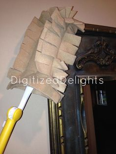 Hate buying those paper like refills for your house duster? Make a few of these and wash and reuse. Comes with instructions on making and 4x4