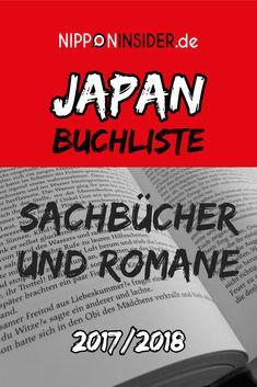 Japan Buchliste / Sachbücher Und Romane / 2017-2018
