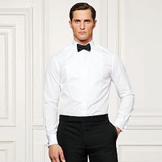 Bond Bib-Front Tuxedo Shirt - Purple Label Best Sellers - RalphLauren.com