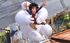 Puffy robot Baymax takes center stage at New York Comic Con panel: http://insidemovies.ew.com/2014/10/09/big-hero-6-footage-new-york-comic-con/