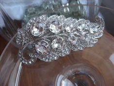 Art Deco Wedding Brooch by Janny Dangerous