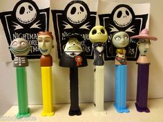 nightmare before Christmas pez..why do I not own these?