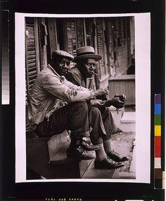 Two Black Men Sitting On Porch by Black History Album, via Flickr  #blackHistory http://Facebook.com/prettyincusa  http://myprettyblog.com http://myprettystore.com #prettyInc Pretty Inc Boutique