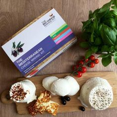 Make Your Own Mediterranean Cheese Making Kit by The Big Cheese Making Kit, the perfect gift for Explore more unique gifts in our curated marketplace. How To Dry Oregano, How To Dry Basil, Cheese Mold, Make Your Own, Make It Yourself, Halloumi, How To Make Cheese, Salted Butter