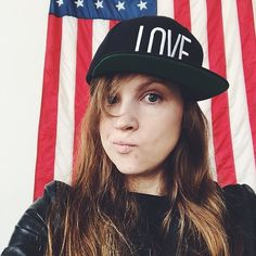 Thanks Katie for showing that the fight for #LGBT equality is all about #love! Buy this snapback and other great products at shop.hrc.org! #WeAreHRC #LoveCantWait #fashion