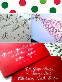 Calligraphy Inspiration Board