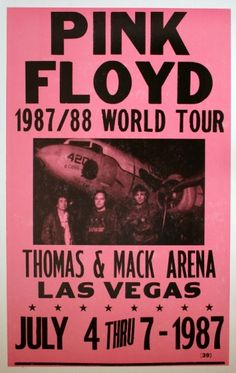 Hello, This is a brand new Pink Floyd concert poster. It measures x and is printed on nice poster paper. All orders will be shipped within 2 business days in a protective mailing tube. Please feel free to contact us with any questions. Tour Posters, Band Posters, Photo Wall Collage, Bedroom Wall Collage, Musica Punk, Pink Floyd Poster, Pink Floyd Concert, Recital, Pink Music