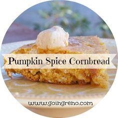 Pumpkin Spice Cornbread | Going Reno
