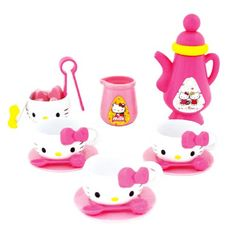 Hello Kitty Toy Pretend Tea Set by Sanrio -- Visit the image link more details. Note:It is affiliate link to Amazon.