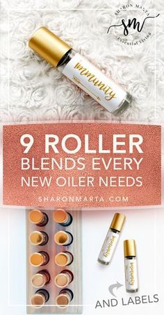 Every new oiler needs these 9 basic essential oil roller blends in their arsenal. I made some printable diy Rose Gold roller bottle labels that are completely editable. Edit the ingredients and title. Essential Oil Perfume, Essential Oil Diffuser Blends, Doterra Essential Oils, Young Living Essential Oils, Essential Oils Young Living Recipes Rollers, Essential Oil Roller Bottles, Essential Oils Labels, Diy Essential Oil, Perfume Oils