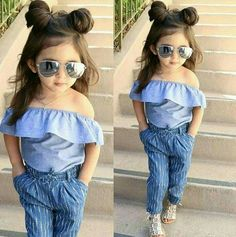 In this video, we will show you beautiful kids outfit ideas, baby girls dress designs, cute Kids Style & more. Find out the perfect outfits for your baby. Stylish Baby Girls, Cute Little Girls Outfits, Dresses Kids Girl, Stylish Kids, Toddler Outfits, Cute Outfits, Kids Outfits Girls, Fall Outfits, Fashion Kids