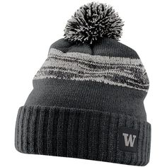 7cb0b2ce6e9 Keep warm on game day while cheering on your favorite team in this men s  Nike Cal Golden Bears Striped Knit Beanie. Tiger StripesPom Pom HatBeanie  ...