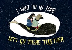 I Want to go Home 8 x 11 Print by Juliapott on Etsy, $20.00