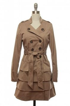 Fancy - My Fair Lady Trench Coat   Vintage, Retro, Indie Style Outerwear   LaceAffair.com