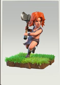 Clash Games provides latest Information and updates about clash of clans, coc updates, clash of phoenix, clash royale and many of your favorite Games Clash Of Clash, Character Modeling, Game Character, Clash Of Clans Troops, Archer Queen, Clan Castle, Clash Games, Barbarian King, 3d Character