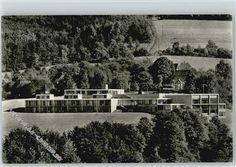 MUSISCHE BILDUNGSSTÄTTE Architekt: Werner Wirsing I Baujahr: 1965-1968 I Adresse: Küppelstein 34,  Remscheid