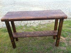 Sofa Table Barn wood table Rustic sofa by SouthernBarnDesigns