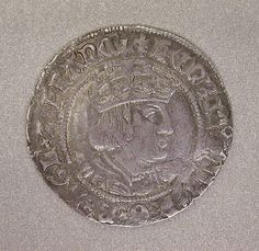 Groat of Henry VIII (second coinage) Date: ca. Culture: British Medium: Silver Dimensions: Diameter: in. Tudor History, British History, Tudor Dynasty, Tudor Era, King Henry Viii, Wars Of The Roses, Plantagenet, Rare Coins, Archaeology