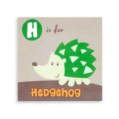 Munch™ Hedgehog Canvas - buybuyBaby.com