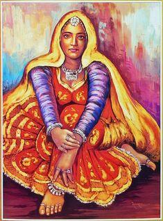 Hospitable Super Fine Indian Miniature Art Painting Rajashthani King And Queen Handmade Art
