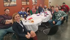 The Young Professionals enjoyed themselves at our Ugly Christmas Sweater Party!