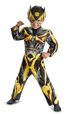 Transformers Age of Extinction - Bumblebee Toddler Muscle Costume