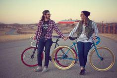Couples #fixed #fixie #fixedgear