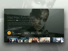 Our new Fire TV detail pages celebrate full screen artwork, giving users an immersive viewing experience. Dashboard Design, App Ui Design, Page Design, Design Ideas, Marketing Plan, Internet Marketing, Marketing Strategies, Business Marketing, Content Marketing