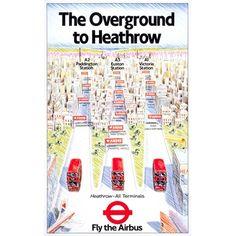 The Overground to Heathrow - Stephen Russell (1984)