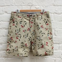Penfield Gill Shorts - Floral - £64.99