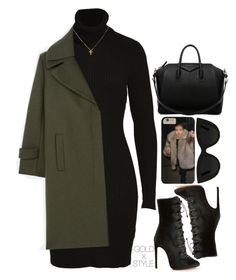 """BERLIN."" by goldxstyle ❤ liked on Polyvore featuring Alaïa, Givenchy and Quay"