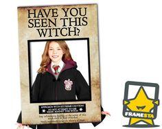Avez-vous vu cette sorcière Photo Booth cadre (Téléchargement instantané) Harry Potter fête, avez-vous vu cet Assistant