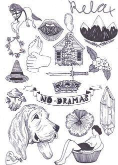 tattoo designs tattoo ideas tattoo inspiration flash sheet forward i Tattoo Flash Sheet, Tattoo Flash Art, Cabin Tattoo, Doe Tattoo, Upper Arm Tattoos, Stick And Poke, Hippie Art, Tattoo Sketches, Tattoo Designs