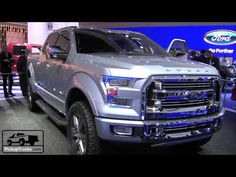 Ford Atlas Concept.  If I can't get a Super Duty, I so want this truck!!!