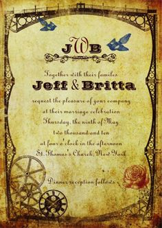steampunk - The Wedding Tea Room