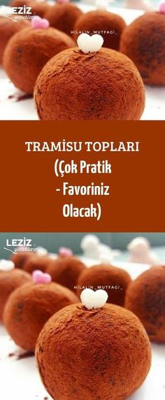 Tramisu Topları (Çok Pratik - Favoriniz Olacak) France is an independent nation in Western Europe and the biggest market of a large overseas administration Delicious Cake Recipes, Yummy Cakes, Dessert Recipes, Yummy Food, Mousse Au Chocolat Torte, Pasta Cake, Recipe Mix, Homemade Vanilla, Turkish Recipes