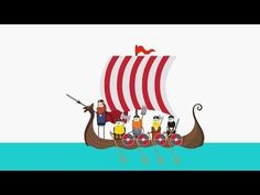 Facts about Vikings – Essentila Viking Facts - A Summary in 120 Seconds… Asian History, European History, Tudor History, British History, Ancient History, Vikings For Kids, Explorers Unit, Viking Facts, Leif Erikson