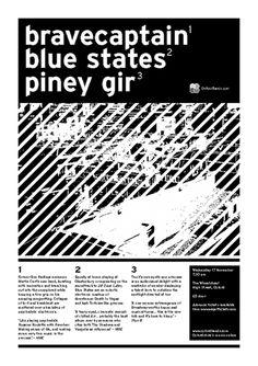 Bravecaptain and Blue States, 2004