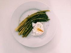 """Szparagi z jajem w """"koszulce"""" :) - healthy plan by ann"""