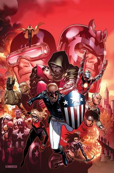 Avengers: The Children´s Crusade #9 cover by Jim Cheung. Awesome