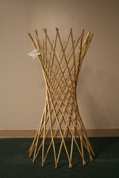 3 Willow Flower Supports - Authentic Bamboo & Natural Finish by Lewis Hyman. $26.52. Light weight, strong, flexible. 48 in. L. Made from Bamboo. Minimal assembly required Used by amateur and professional growers to support the plant stems during the growing and mature periods. Offers design flexibility.. 48 in. L. Made from Bamboo. Light weight, strong, flexible. Minimal assembly required Used by amateur and professional growers to support the plant stems during...