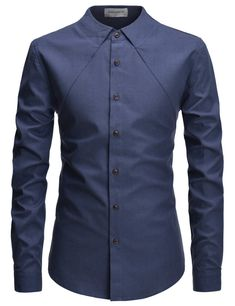 Parker Casual No Collar Shirt