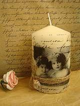 Svietidlá a sviečky - sviečka ll - 4291186_