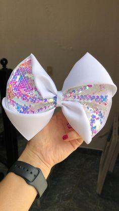 Handmade Hair Bows, Diy Hair Bows, Diy Bow, Bow Hair Clips, Hair Ribbons, Ribbon Hair, Ribbon Bows, Diy Hair Accessories Ribbon, Baby Girl Hair Accessories