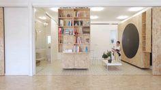 Transformando um interior minúsculo em um apartamento multifuncional