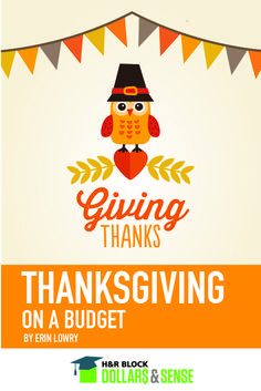 Planning Your Family's Budget-Friendly Thanksgiving by Erin Lowry #budgeting #lists #thanksgiving