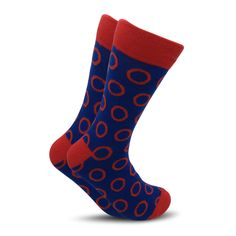 men big dots socks