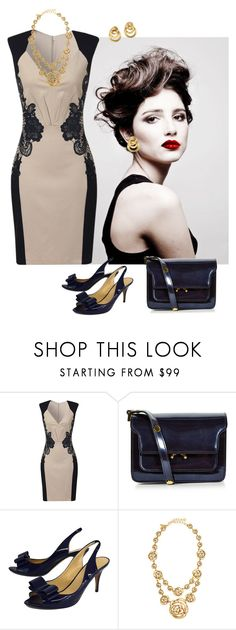 """Untitled #612"" by jpanthere ❤ liked on Polyvore featuring Angelo, Little Mistress, Marni, Kate Spade, Oscar de la Renta and Marco Bicego"