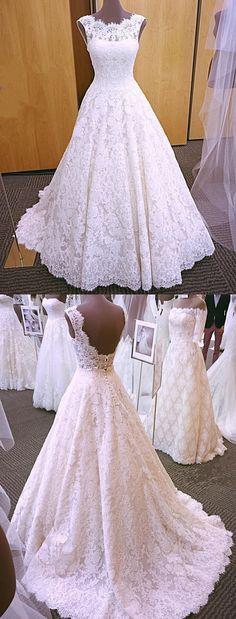 elegant lace wedding dresses 2018 modest wedding gowns with sleeves #weddingdresses #Weddingsoutfit